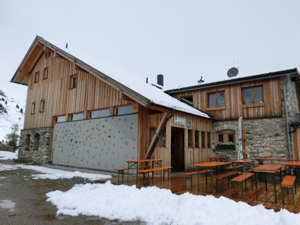 Die Lizumer Hütte.