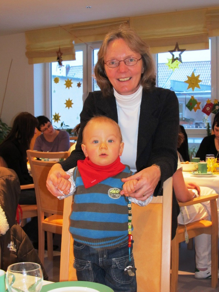 Kinderweihnachtsfeier mit Henry 2010