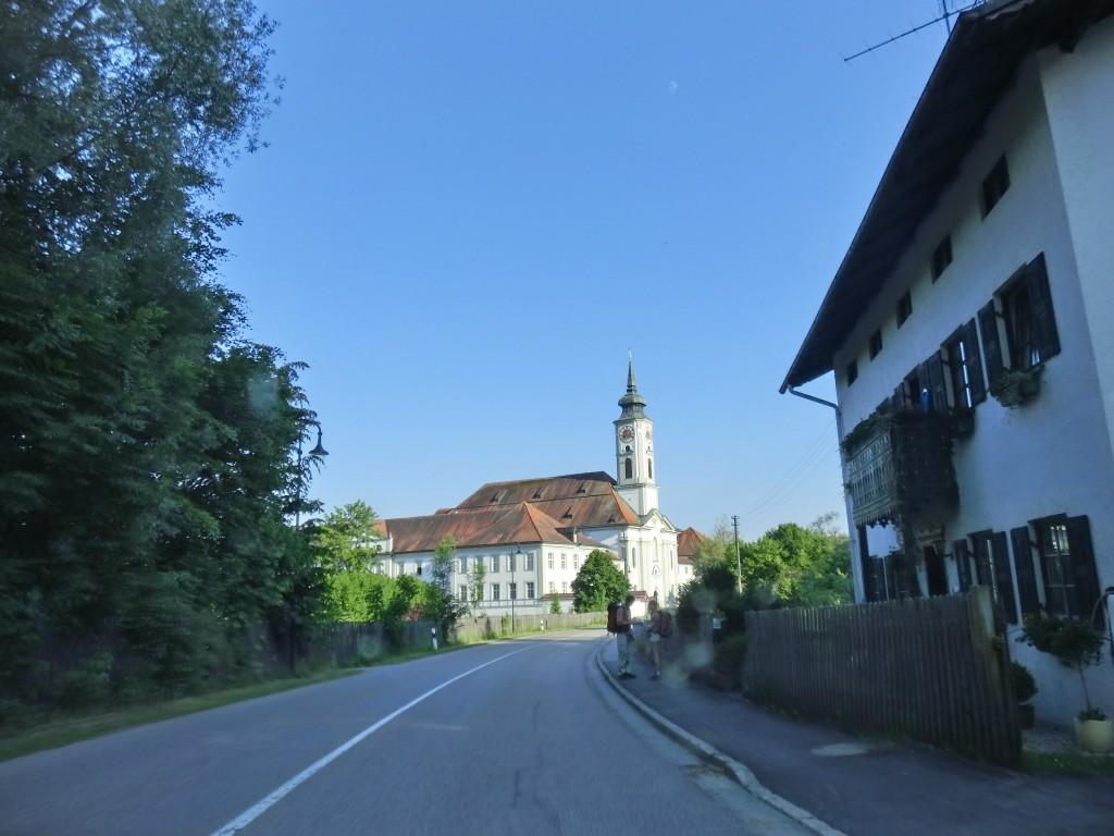 Kloster Schäftlarn in Sicht