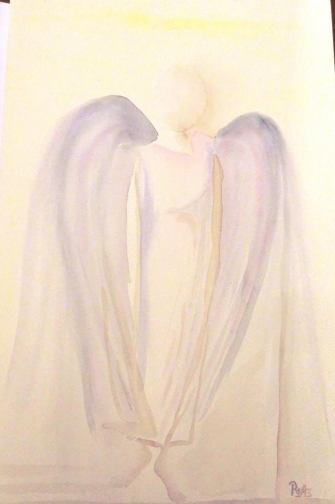 Aquarell - Ein Hauch von einem Engel