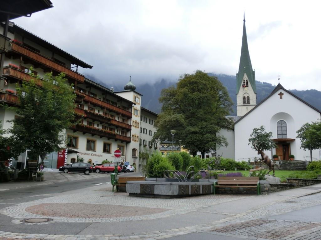 In Mayrhofen.