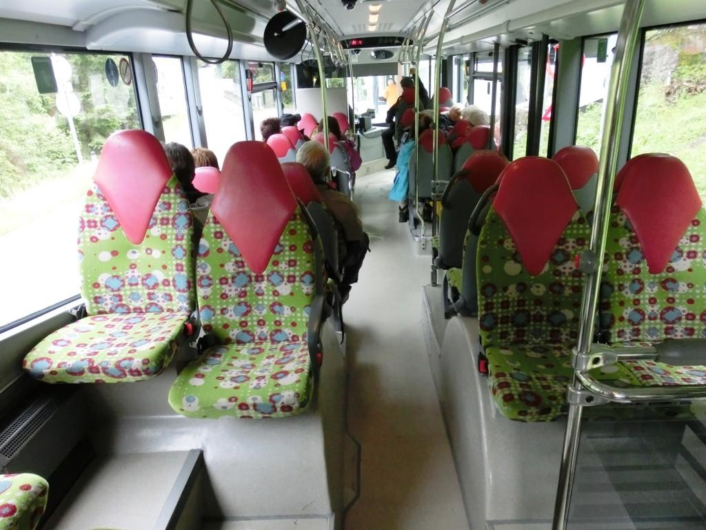 Mit dem Bus zum Schlegeisstausee.