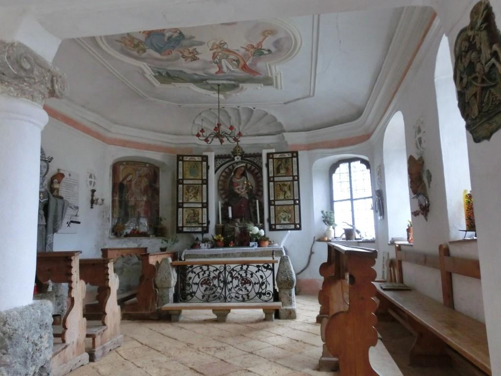 Die Kapelle bei den Herrenhäusern.
