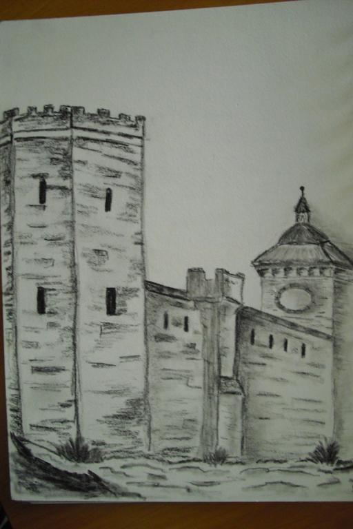 Ausschnitt der Stadtmauer Mühlhausen