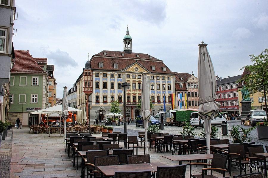 Rathaus am Marktplatz