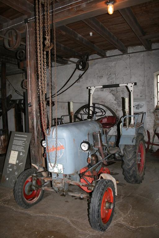 Relikt aus Landmaschinenhandel
