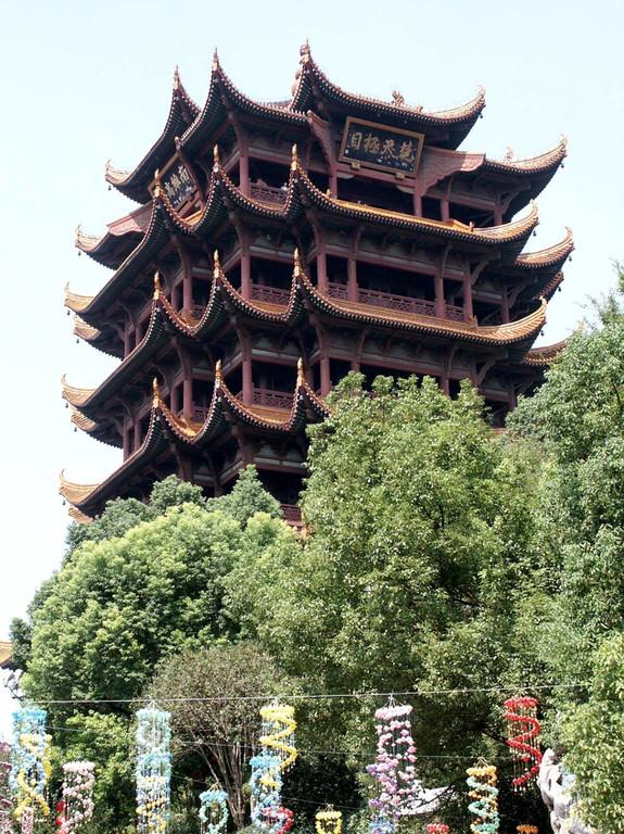 Wuhan gelber Kranich - Turm
