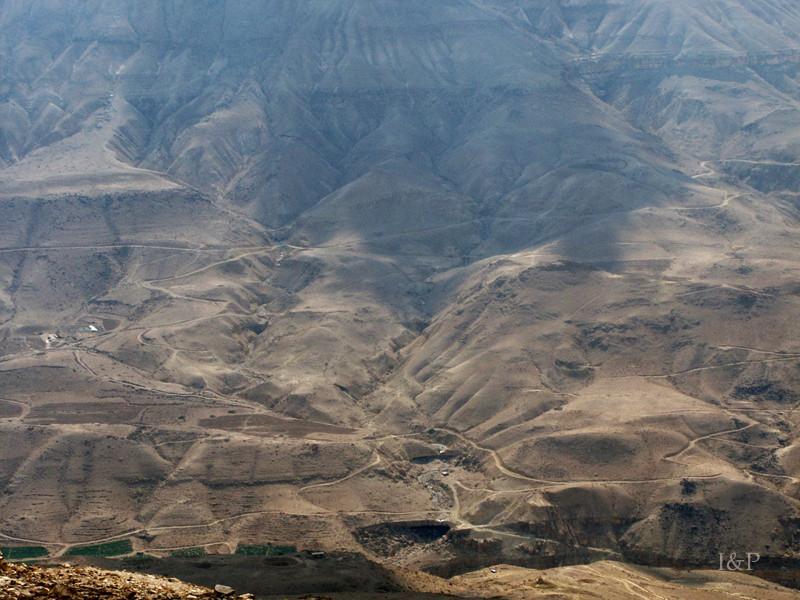 unterwegs nach Kerak, Wadi Mudjib