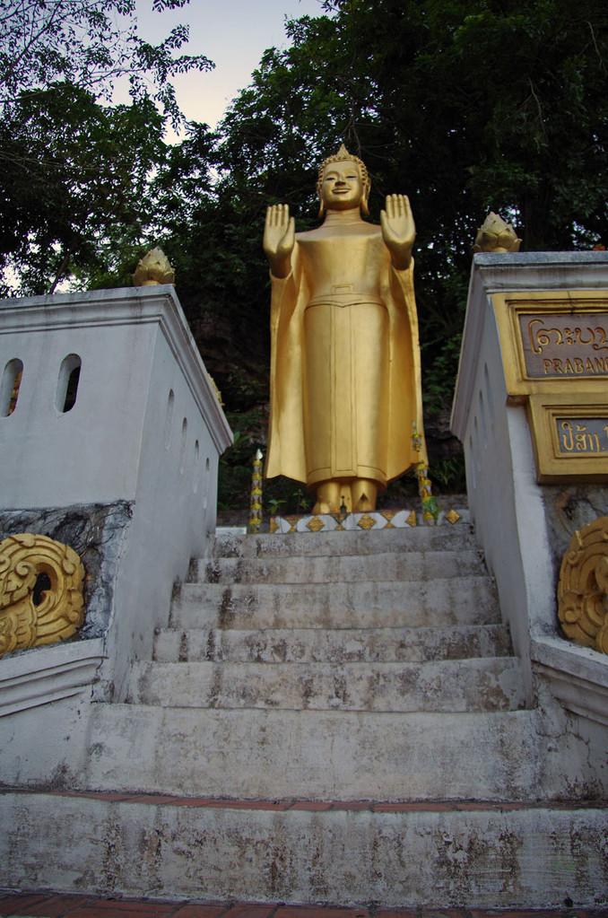 Statuen unterwegs