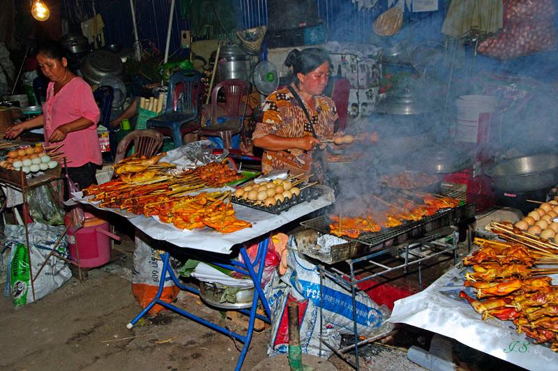Erster Bummel in Vientiane