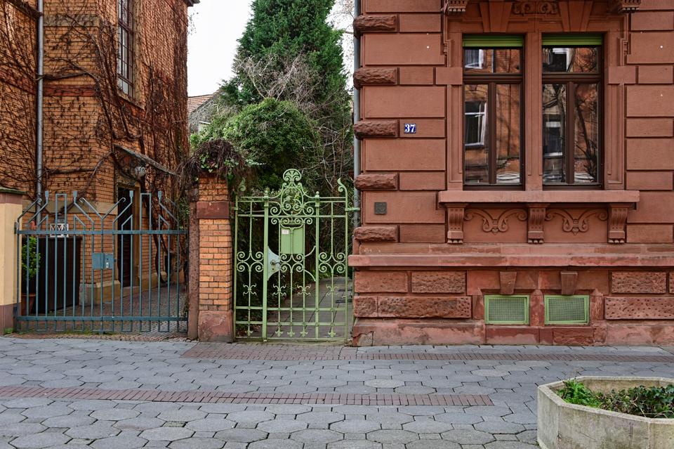 Schöner Eingang