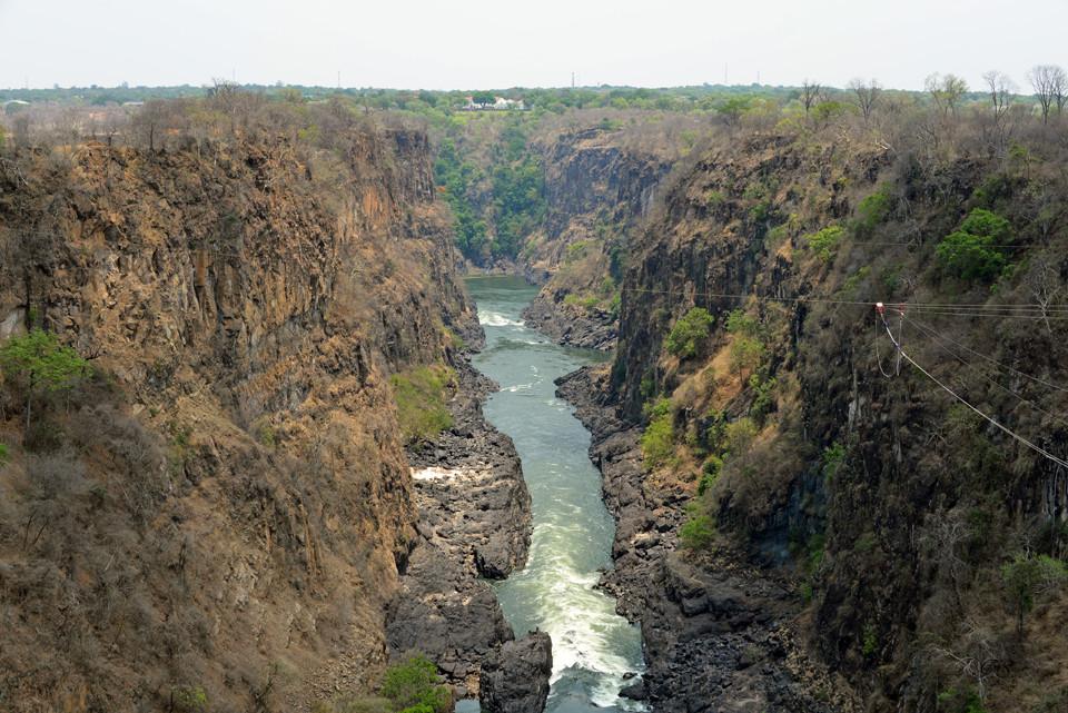 Grenzbrücke Sambia-Simbabwe, Victoria Falls