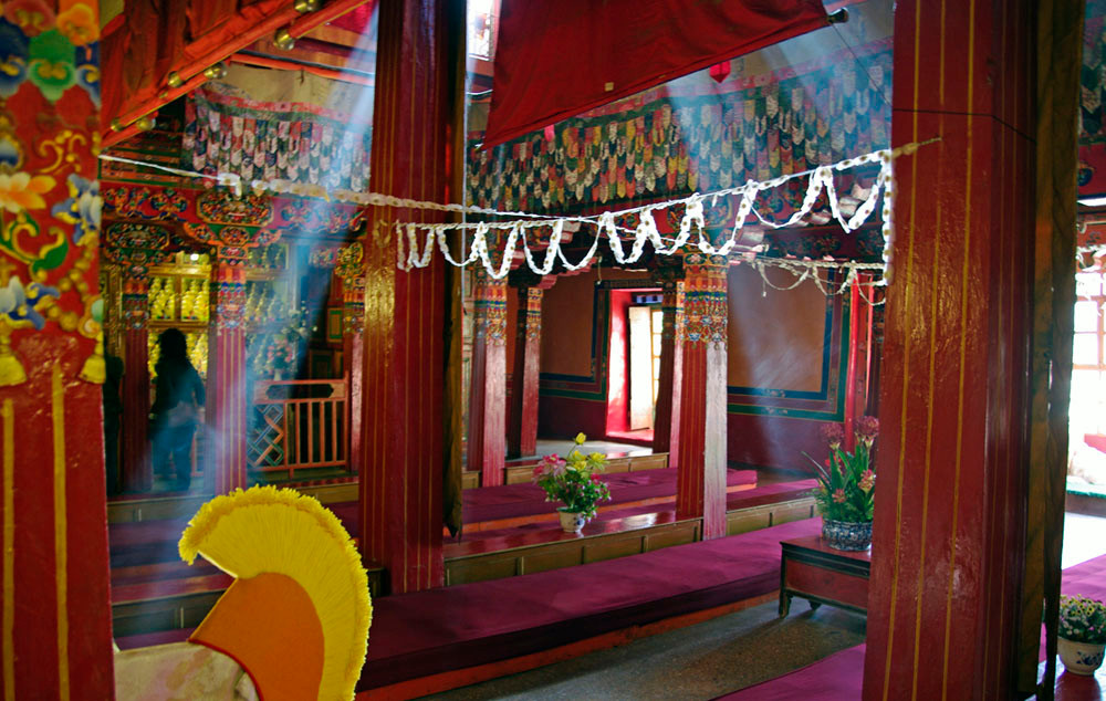 Drepung-Kloster, innen