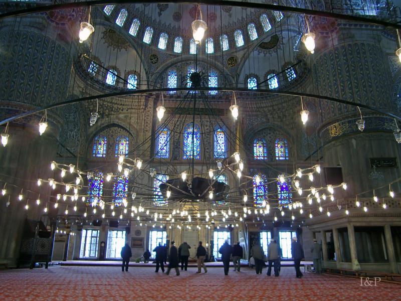 Istanbul, blaue Moshee(Sultan Ahmed)