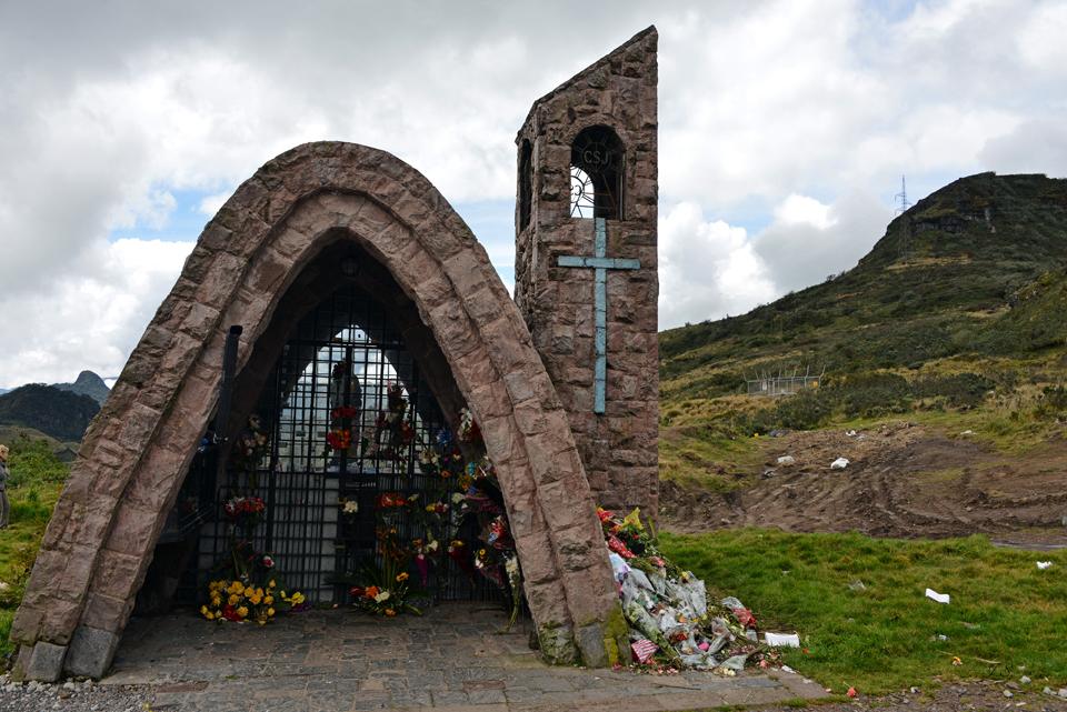 Höchster Punkt, Virgen del Quinche