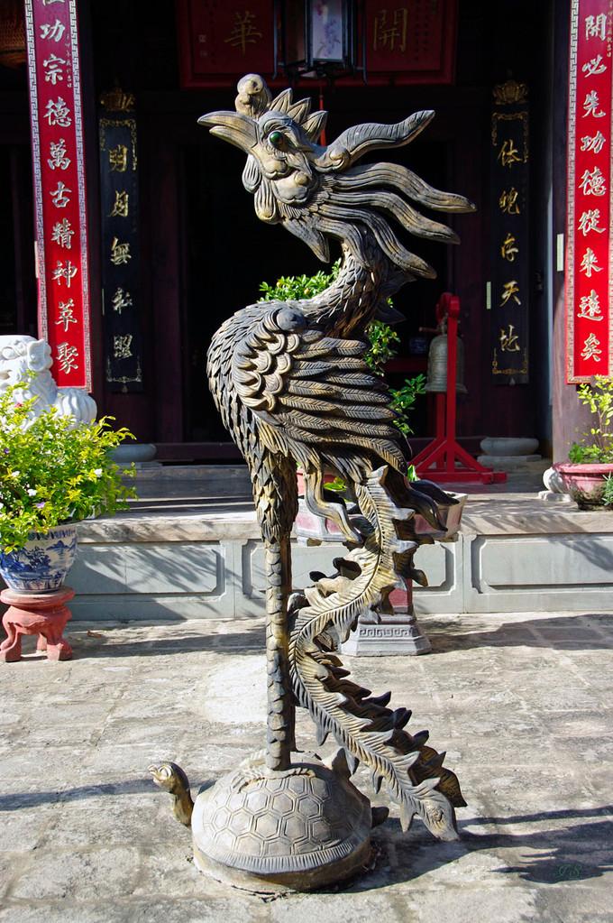 Hoi An, Quan Cong Tempel
