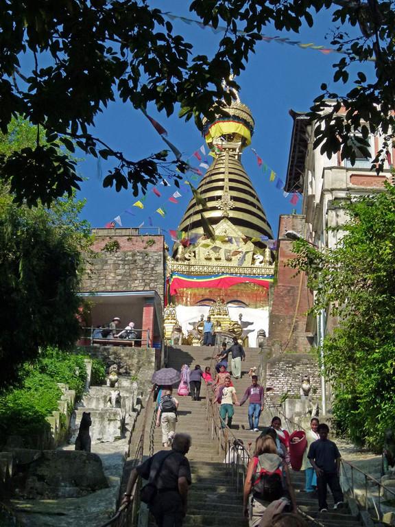 Kathmandu, Swayambhunath Tempel
