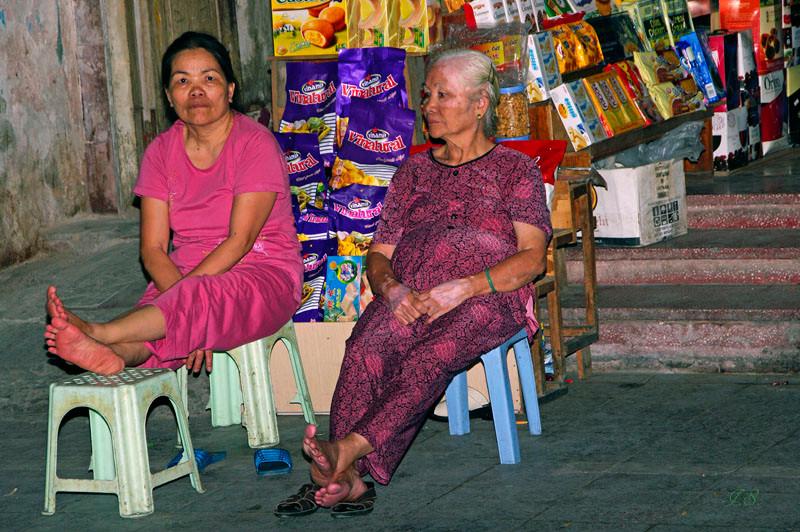 abends in Hanoi