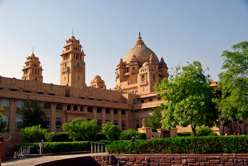 Jodhpur Umaid Bhawan Palast