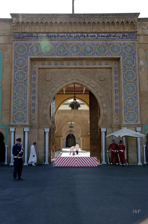 Rabat, Königspalast