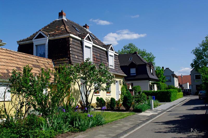 schöne Häuser überall