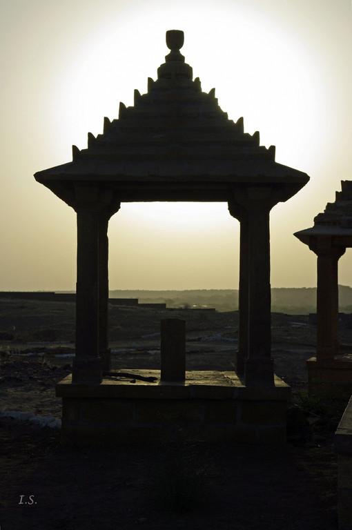 Jaisalmer Grabstätte
