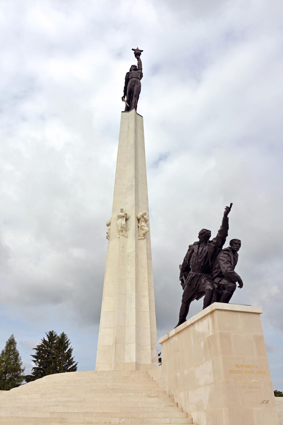 Denkmal ' Schlacht von Batina'