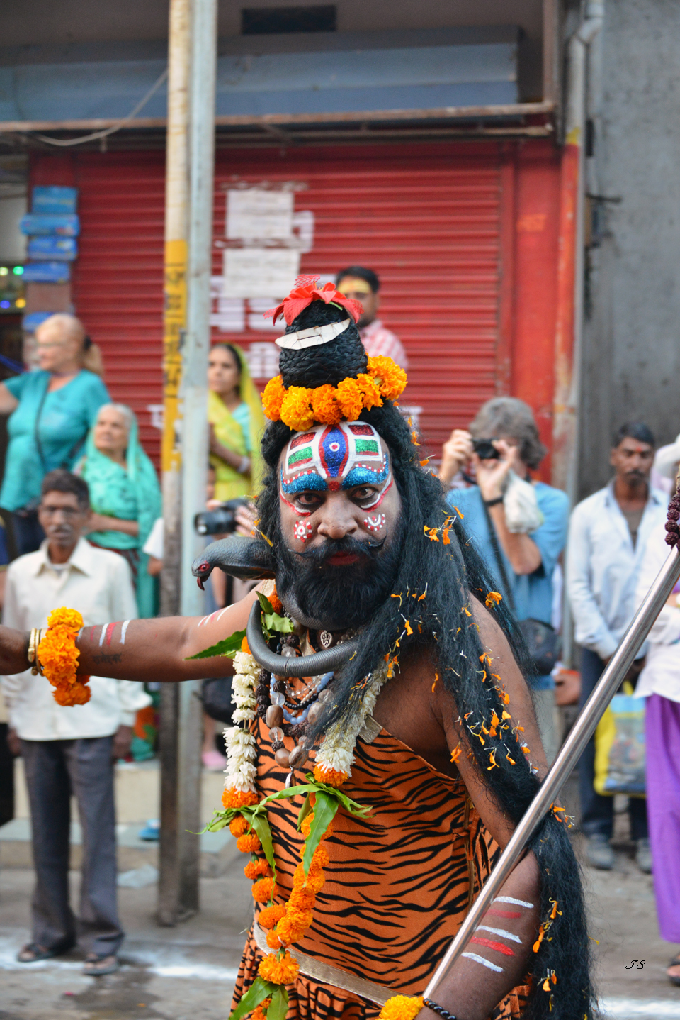 Prozession in Ujjain