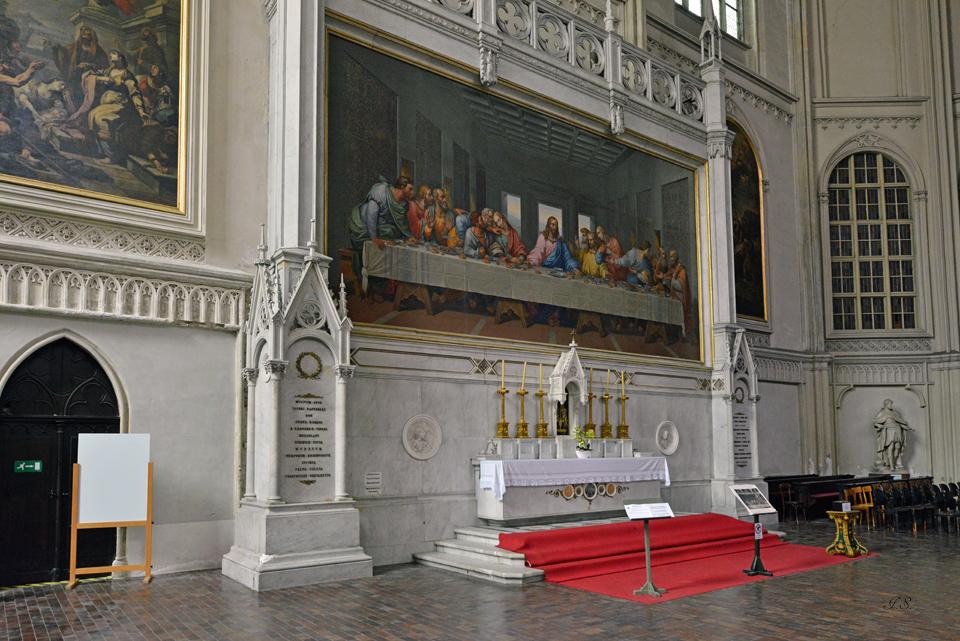 Minoritenkirche, Mosaik