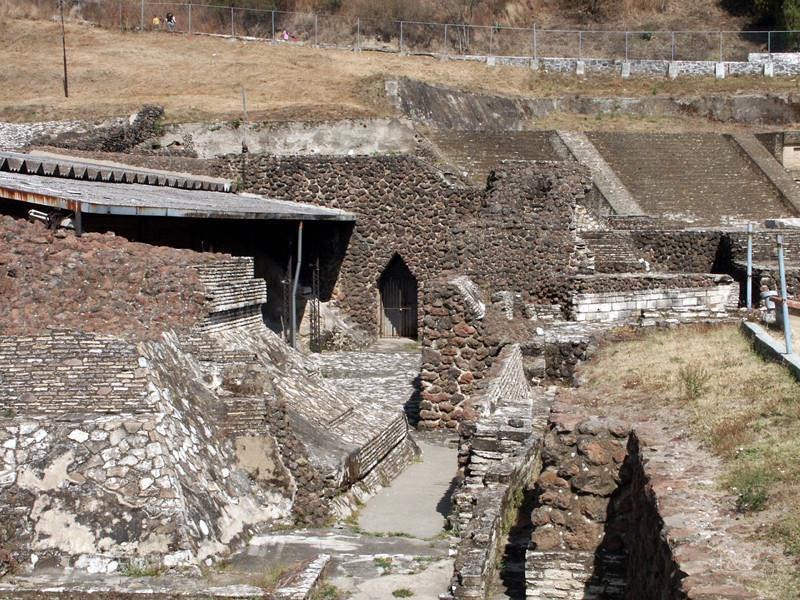 Cholula, Tepanapa- Pyramide