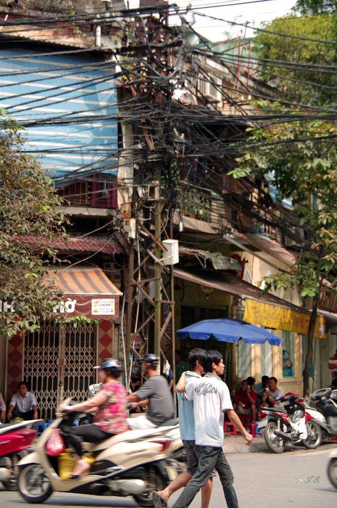 unterwegs in Hanoi