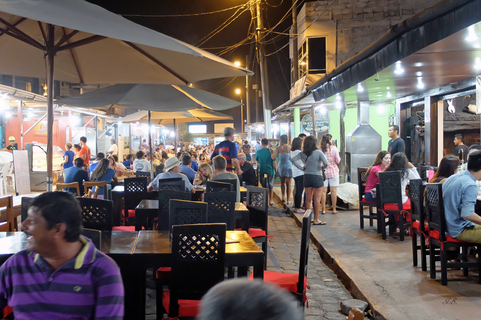 Abendessen in Puerto Ayora