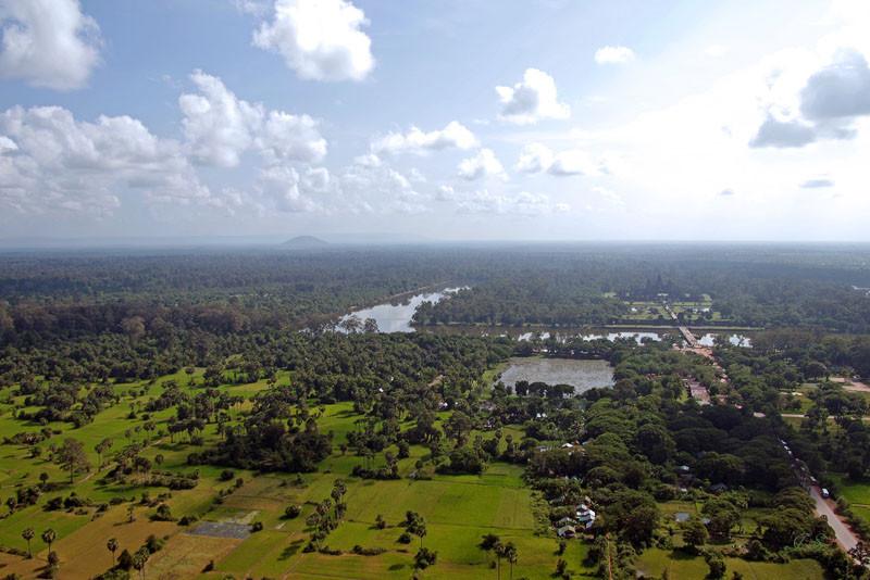 Blick über Angkor Wat