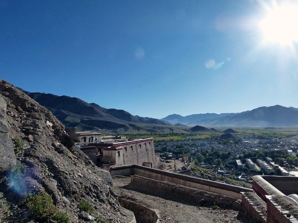 Dzong Fort, Blick über Gyantse