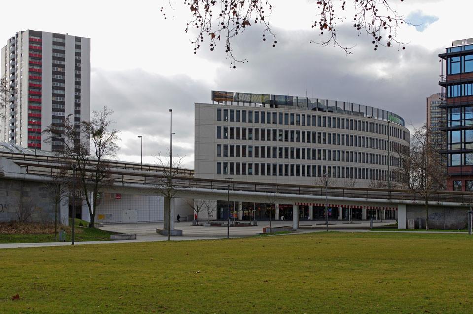 Blicrichtung Berliner Platz