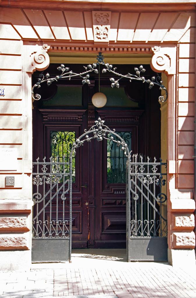 Prächtiger Eingang