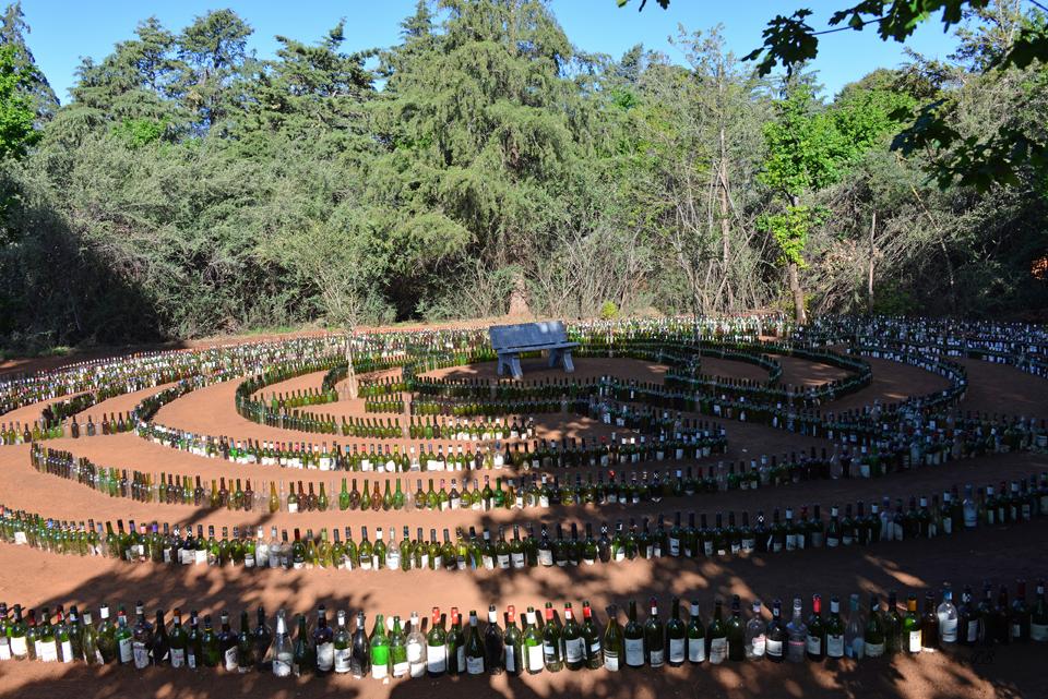 Labyrinth im Camp