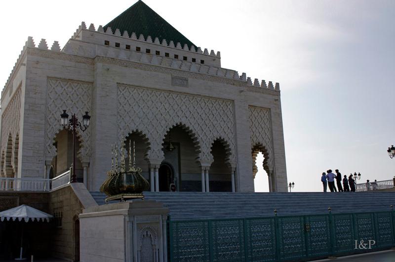 Rabat, Mausoleum Mohamed,des 5.