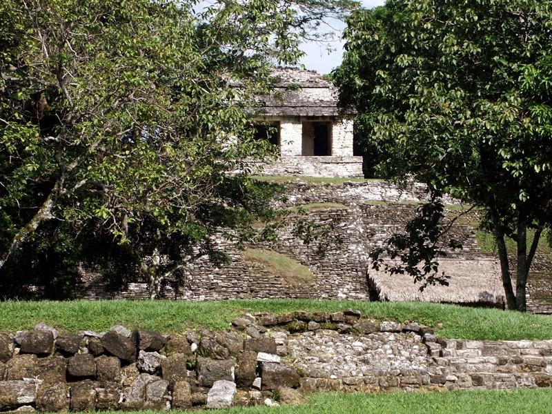 Palenque, Tempelanlage