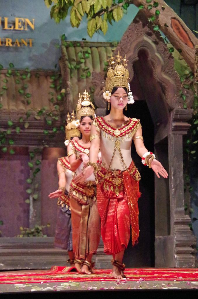 Siem Reap, traditionelle Tänze