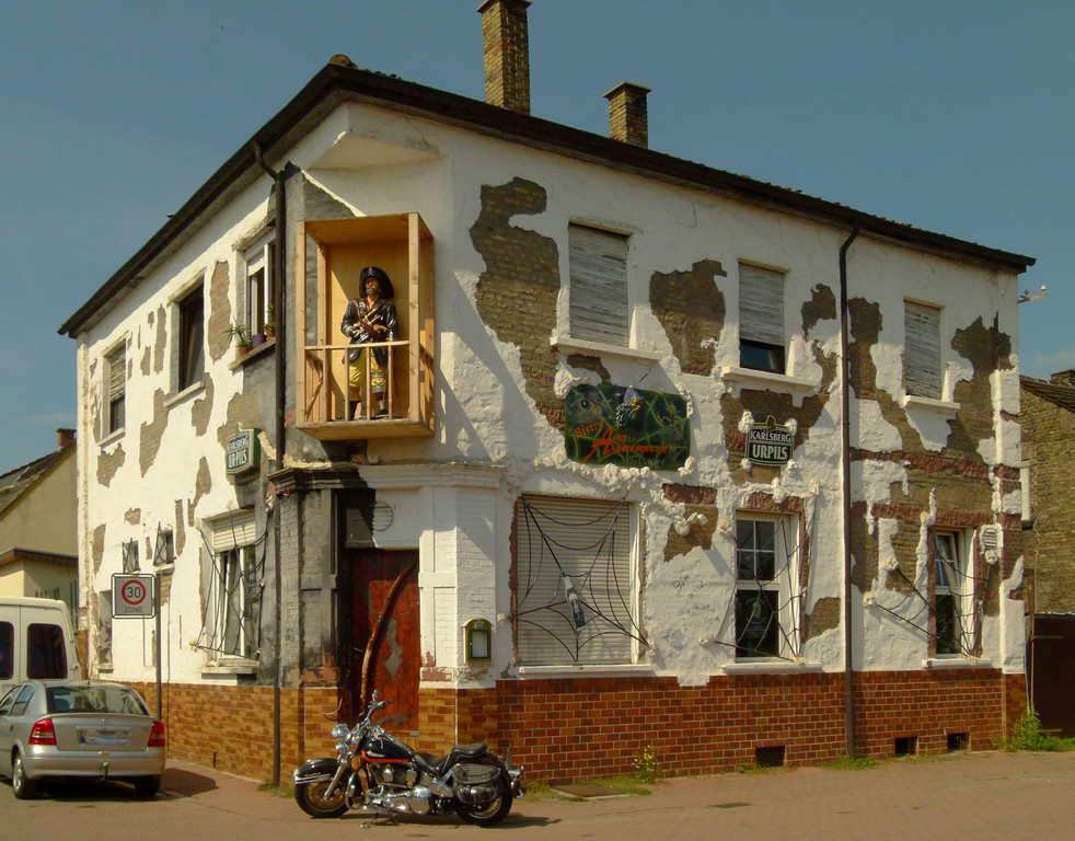 toll gestalteter Pub