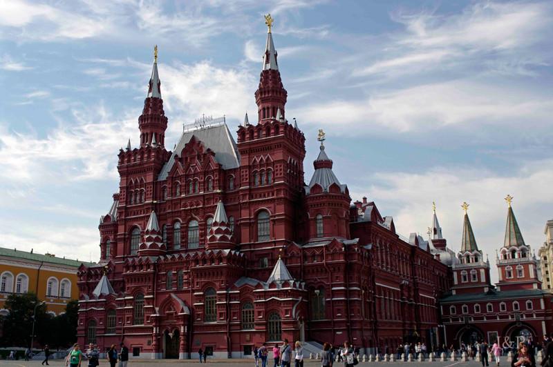 Moskau,staatl. Geschichtsmuseum am roten Platz
