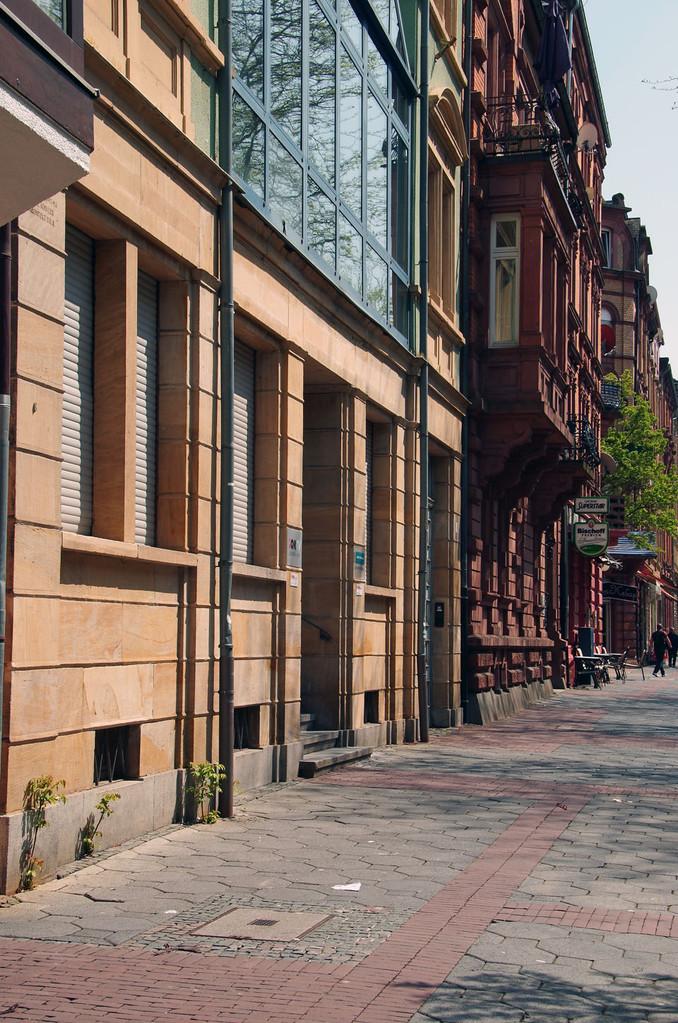 Herrliche alte Bürgerhäuser in vielen Wohnstrassen