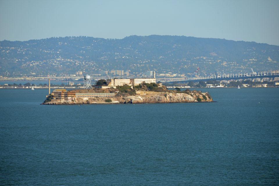 Blick nach Alcatraz