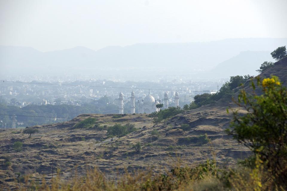 Blick über Aurangabad