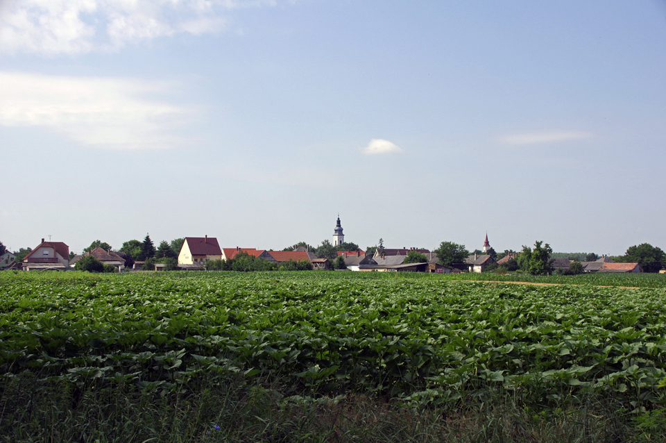 Dorf Uszod