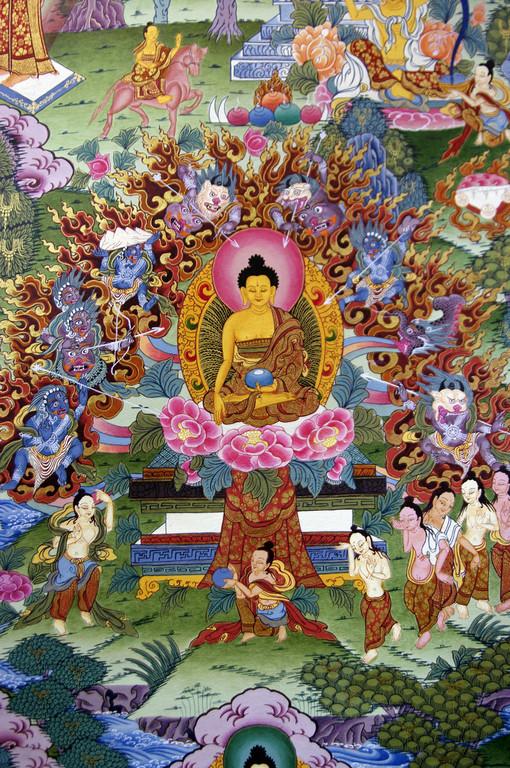 Mandala-Malerei