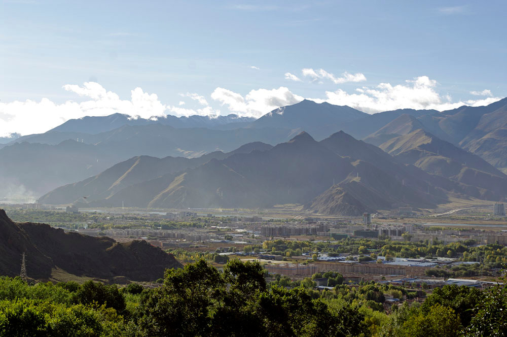 Drepung-Kloster, Blick ins Tal