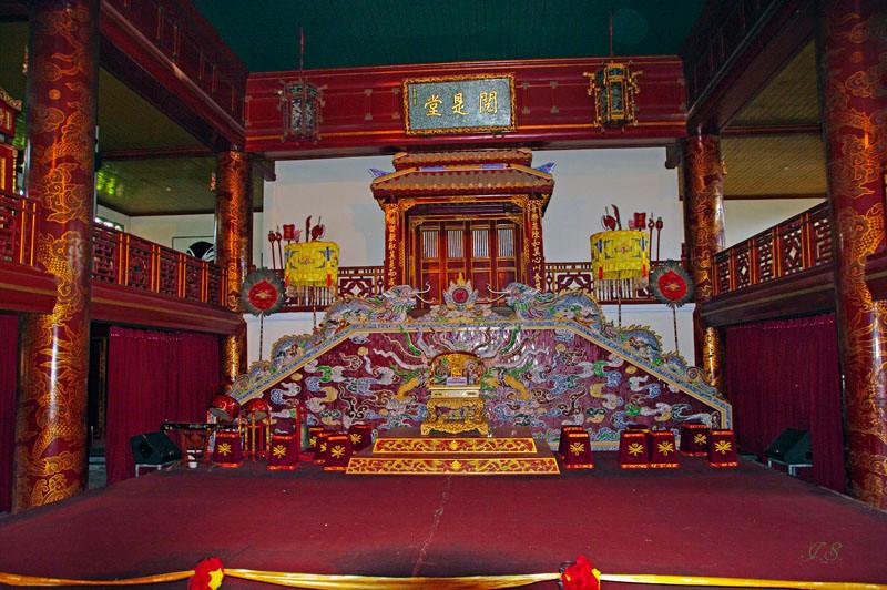 Hue, Zitadelle königliches Theater