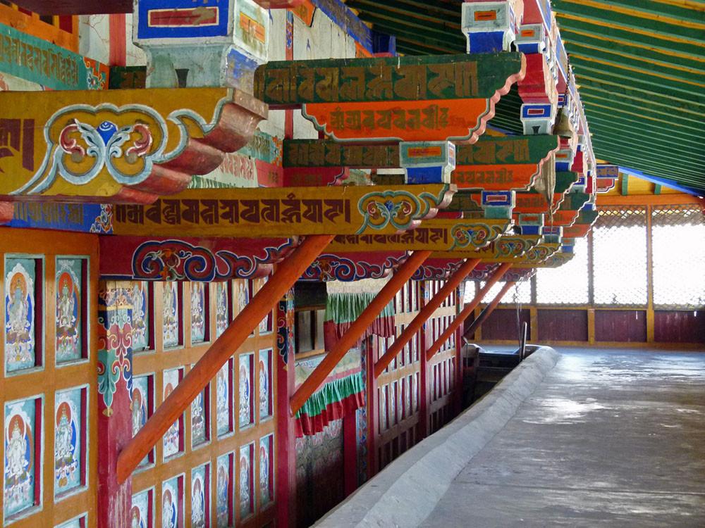 Samje-Kloster, Innenbereich